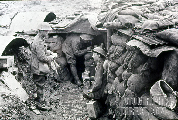 essay on life in the trenches